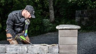 ESSVE med nytt steinlim - raskere og enklere murarbeid