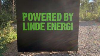 Powered by Linde energi
