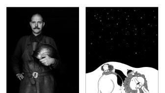 Mästarprov i rustningssmide och magiskt kungliga upplevelser för barn i Lilla Rustkammaren. (Illustration: Mia Nilsson)
