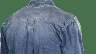 L.Brador Jeansskjorta 710B bak