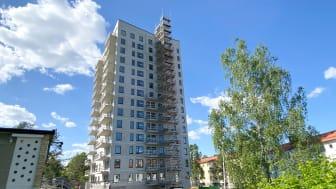 Lägenheter med Hyrköp snart klara för inflyttning i Brf Branddammen i Bandhagen