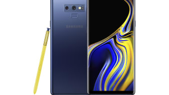 Samsung Galaxy Note9_front_back_pen_blue