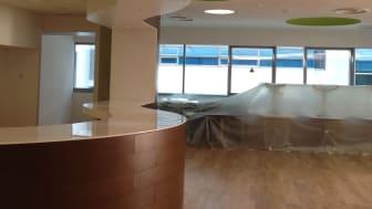 Completed Engineered Wood Flooring Project by Evorich @ NTU