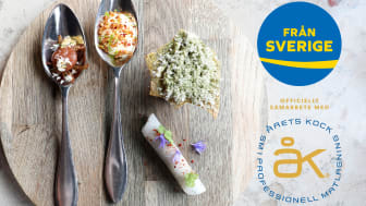 Svenskmärkning med ursprungsmärkningen Från Sverige förlänger samarbetet med Årets Kock för att fortsätta lyfta svenska råvaror tillsammans med den viktiga målgruppen krögare.