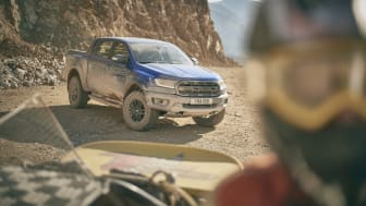 Ford Ranger Raptor är byggd för att klara av alla tänkbara väg- och väderförhållanden.