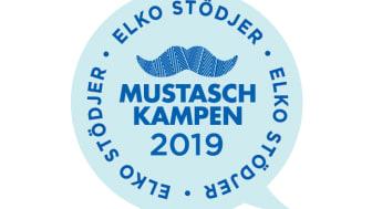ELKO stödjer Mustaschkampen för tredje året i rad