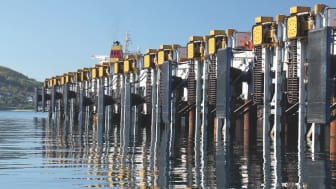 MoorMaster™ 200B units at an iron ore berth in northern Norway