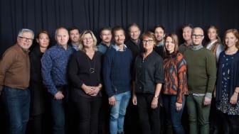 Matverk avgörs snart för femte året i rad. På bild är riksjuryn för Matverk 2016 med ordförande Mathias Dahlgren.