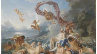 François Boucher, Venus triumf, 1740. Foto: Cecilia Heisser/Nationalmuseum.