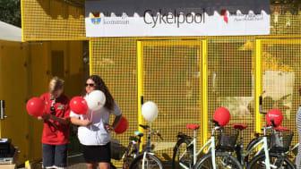 Nu öppnar Riksbyggen cykelpoolen i Haninge för sista säsongen!