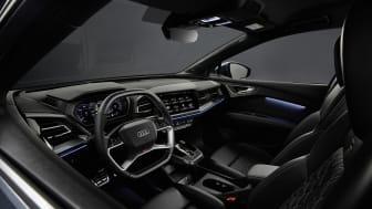 Audi Q4 e-tron interiør med Sonos højtalere