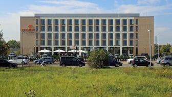 Außenansicht des neuen LOGINN by Achat Hotel