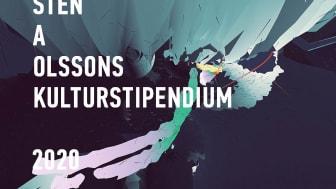 Sten A Olssons Kulturstipendium 2020. Bild: Ola Ingvarsson