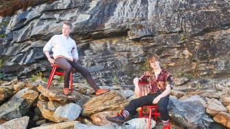 De unge samiske artistene Emil og Lávre er klare for å presentere nytt materiale