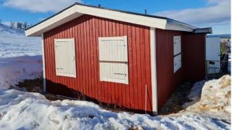 Stugan på Ädnamvaara har återfått sin forna glans