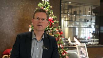Hotelldirektør Lars Roalkvam