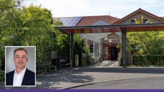 """In der Hephata-Klinik ist wieder eine Isolierstation für Covid-19-Patienten eingerichtet worden. Geschäftsführer Alexander Stein betont: """"Die Fachkliniken für Psychiatrie und Neurologie sind weiterhin uneingeschränkt für alle Patienten da."""""""