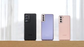 Samsung Galaxy S21-serien er her – tag del i den ultimative smartphone-oplevelse