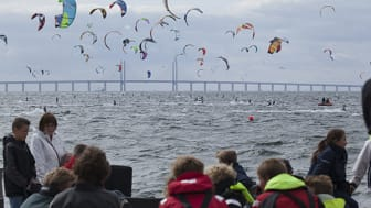 Slaget om Öresund för 500 kitesurfare