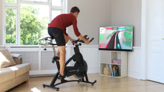 Motosumo launches livestream at-home cycling classes with an app that turns any bike into a smart bike