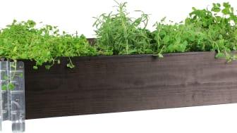 Saml dine krydderurter i et højbed og hav friske råvarer lige uden for døren.