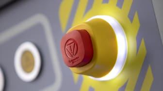 Harmony XB5 nødstop med integreret LED-lys