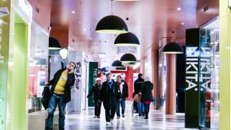 Trinagelns köpcentrum i Malmö