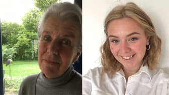 Maria Börjesson, mottagare av Kristianstads kommuns kulturpris och Vera Kronbäck årets kulturstipendiat