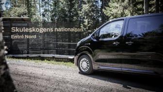 I sommar blir det lättare för Höga Kustens besökare att åka hållbart till entréerna vid Skuleskogens nationalpark.