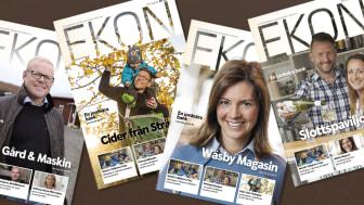 Ekon – ett magasin i både fysiskt och digitalt format