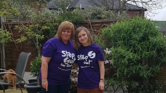 Survivors take a Step Out for Stroke in Heywood