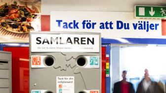 Samlaren finns nu i ett 20-tal matbutiker i Malmö