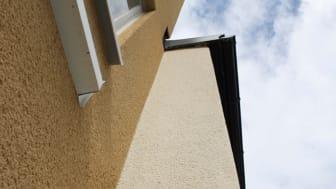 Webers rivputs för eleganta och robusta fasader