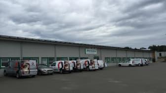 Grattis Derome! Idag inviger RO-Gruppen deras nya och största byggvaruhandel på Viared i Borås.