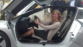 Gröna Bilisters ordförande Johanna Grant kommer vara på plats i Trollhättan när Miljöbästa Bil 2017 utses.