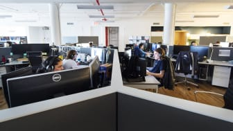 Avalanche Studios NYC Office Open Workspace