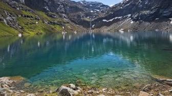 Trollsjön utanför Abisko vann omröstningen om bästa svenska alternativet till en utlandresa i sommar