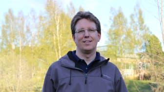 Fredrik Norström, forskare vid Institutionen för epidemiologi och global hälsa. Foto: Sara Franke Wikberg.