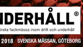 Träffa oss på Underhållsmässan i Göteborg 13–16 mars. Monter A02:11