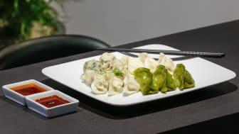 Dumplings blir en del av den förlängda menyn i subkonceptet Sushi Yama Dim Sum.