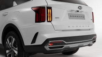 wide rearbumper with turn signal Led