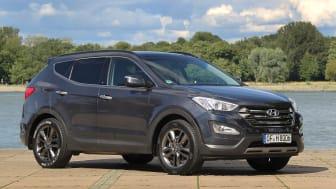Fem stjärnor i Euro NCAP för Hyundai Santa Fe!