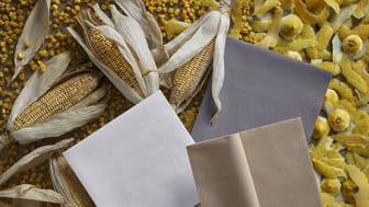 New fossil free napkin and table covering materials