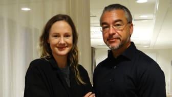 Lina Thomsgård och Alfons Karabuda