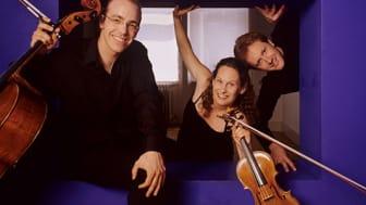 Kungsbacka Piano Trio ger tre konserter i Skåne i november. Foto: Hanya Chlala