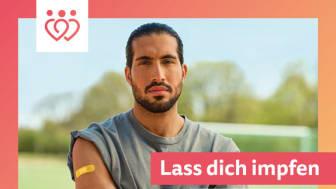 Kampagnen-Botschafter Emre Can - Foto: https://www.leben-statt-lockdown.de/