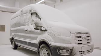 Ekstrem kulde er blot et af de forhold, den nye Ford E-Transit har været udsat for.
