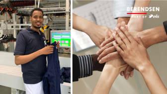 Arbejdsfordeling skaber jobsikkerhed hos Berendsens vaskerimedarbejdere