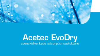 Ny broschyr EvoDry avfuktare