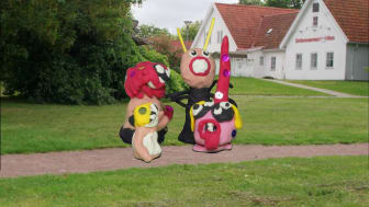 Barnens Skulpturpark, invigning.